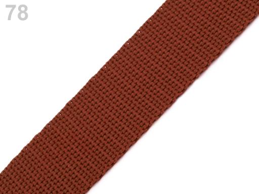 Popruh polypropylénový šírka 20 mm Multicolored 25m