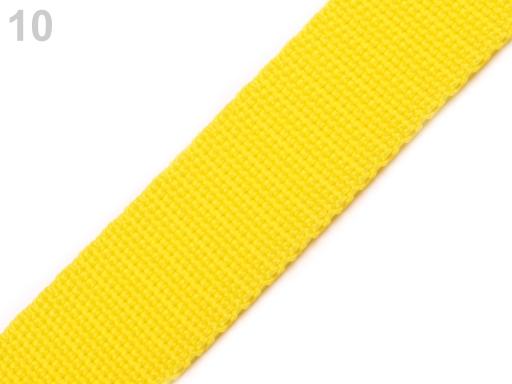 Popruh polypropylénový šírka 20 mm Golden Poppy 25m