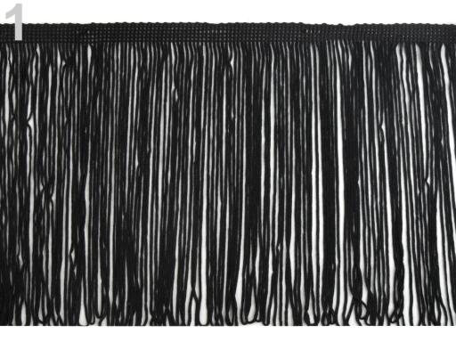 Strapce šírka 170 mm čierna 1m