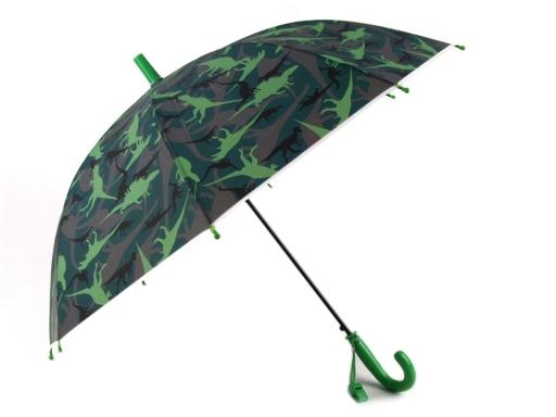 Detský vystreľovací dáždnik s píšťalkou, sova, dinosaurus, autá, vesmír červená 1ks