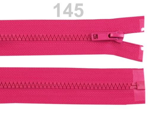 Kostený zips šírka 5 mm dĺžka 35 cm bundový High Risk Red 10ks