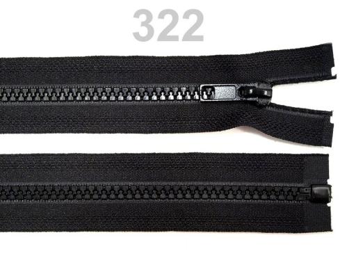 Kostený zips šírka 5 mm dĺžka 40 cm bundový Prairie Sand 25ks