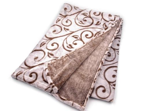 Deka fleece 150x200 cm so vzorom šedá 1ks