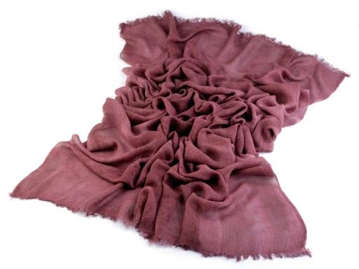 Šál 100x200 cm fialová slivka 1ks