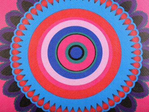 Kozetická taška mandala 15x25 cm ružová detská 1ks