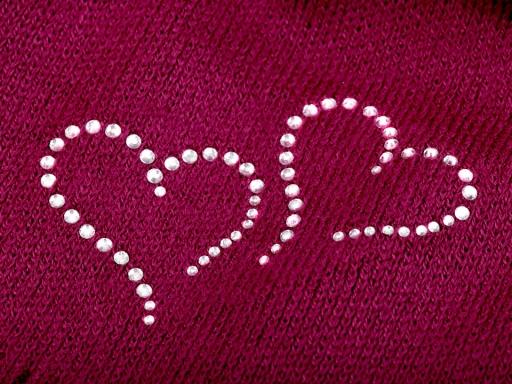 c1b894b62 Dievčenská zimná čiapka Capu so srdiečkami šedá perlovo 1ks
