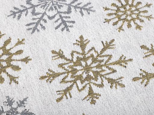 Vianočné prestieranie 33x47 cm zlatá 1ks