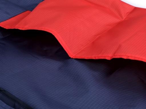 Skladacia nákupná taška 38x40 cm červená 1ks