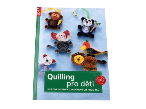 Kniha Quilling pre deti