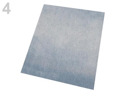 Nažehlovacie záplaty riflové 17x43 cm antracitová 1ks