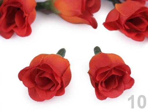 Umelý kvet ruže Ø25 mm ružová lastúrová 200ks