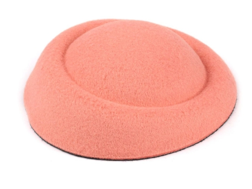 Základ na výrobu fascinátorov 11x13 cm ružová prášková 1ks