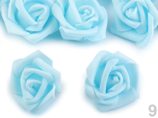 Dekorácia ruža Ø4 cm fialová lila 10ks