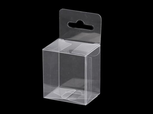 Plastová krabička na zavesenie Transparent 50ks