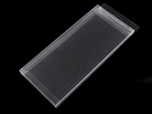 Plastová krabička na zavesenie Transparent 10ks