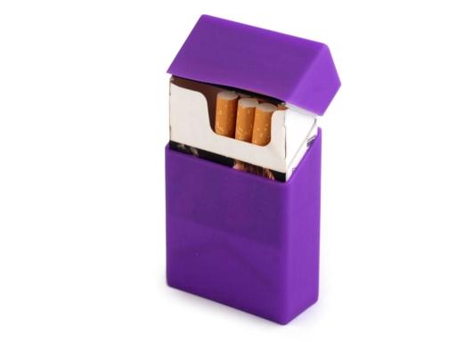 Silikónové puzdro na cigarety Green Yelow 1ks