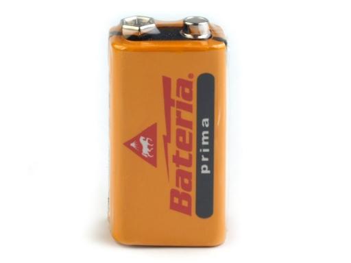 Ploché batérie 9V ULTRA prima Bateria Slaný oranžovožltá 1ks