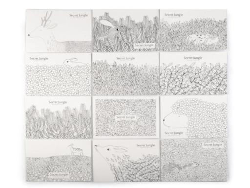 Kreatívna sada pastelky, pohľadnice a zápisník Languo