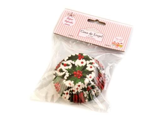 f671dc492 Vianočné papierové košíčky na muffiny béžová sv. 1sada