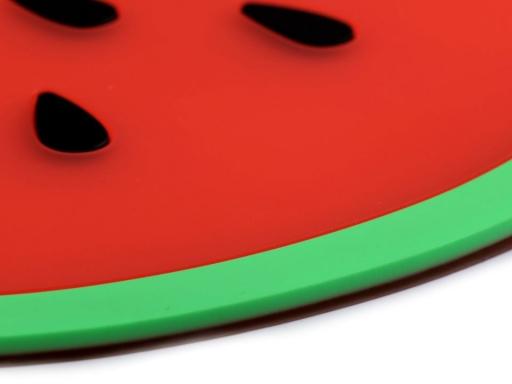 Silikónová podložka / prestieranie ovocie Ø24,5 cm melón 1ks