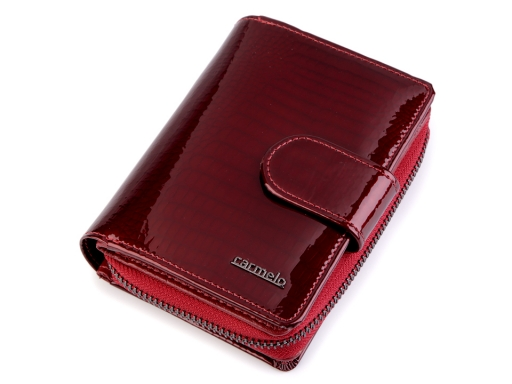 Dámska peňaženka Carmelo kožená bordó 1ks
