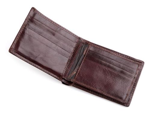 Pánska peňaženka Cosset kožená čierna 1ks