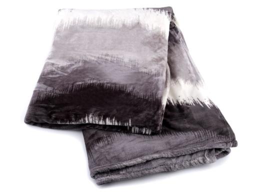 Predĺžená deka fleece 150x245 cm šedá 1ks