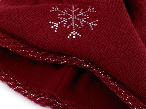 7db1e5ab8 Dámska zimná čiapka s brmbolcom Capu béžová sv. 1ks