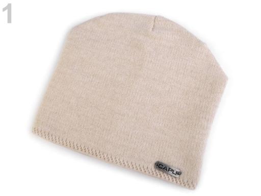 Dámska čiapka Capu béžová sv. 1ks