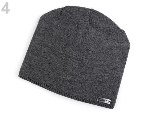 Dámska čiapka Capu šedá 1ks