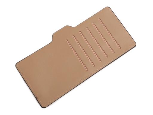 Dámska peňaženka / dokladovka psi 10x20 cm tyrkys 1ks