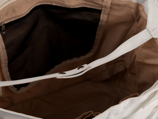 Taška s vreckami 31x33 cm hnedá 1ks