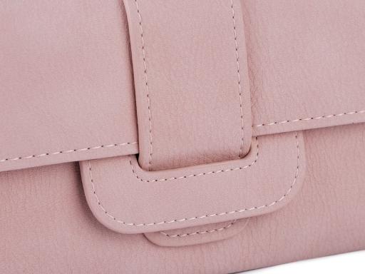 Dámska peňaženka / dokladovka 11x19 cm zelenkavá 1ks