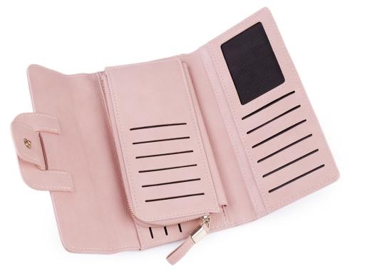 Dámska peňaženka / dokladovka 11x19 cm čierna 1ks