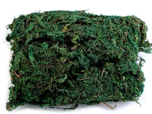 Dekoračný mach 50 g zelená 4sáčok