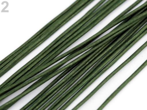 Floristický drôt Ø1,3 mm dĺžka 40 cm biela 20ks