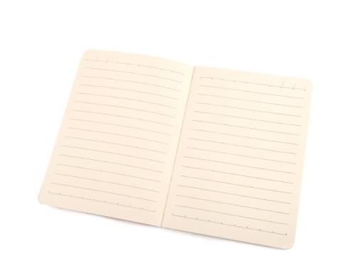Zošit / zápisník A6 mačka Languo bielo-modrá 1ks
