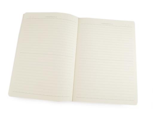 Zošit / zápisník plameniak Languo 18,5x26 cm biela 1ks