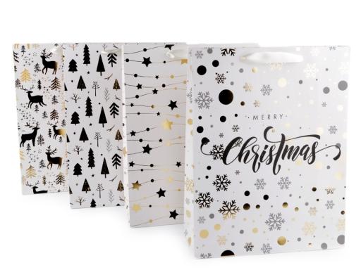 Darčeková taška vianočná veľká