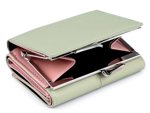 Peňaženka velryba 9x11 cm čierna 1ks