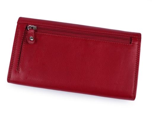 Dámska peňaženka kožená hnedá 1ks