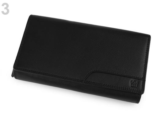 Dámska peňaženka kožená v krabičke hnedá 1ks