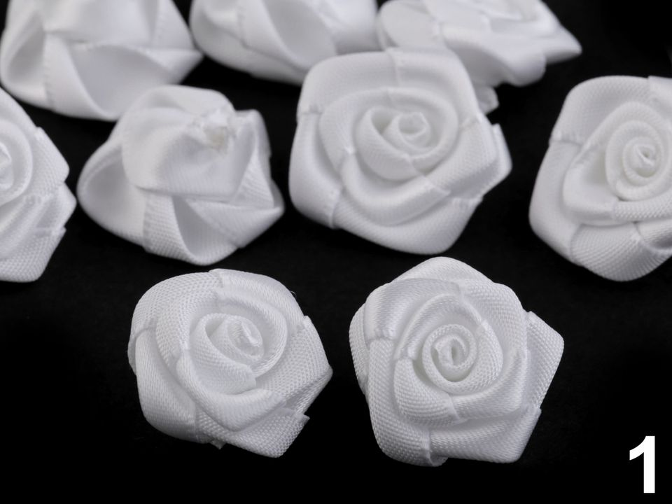 Textillux.sk - produkt Saténová ružička Ø20 mm