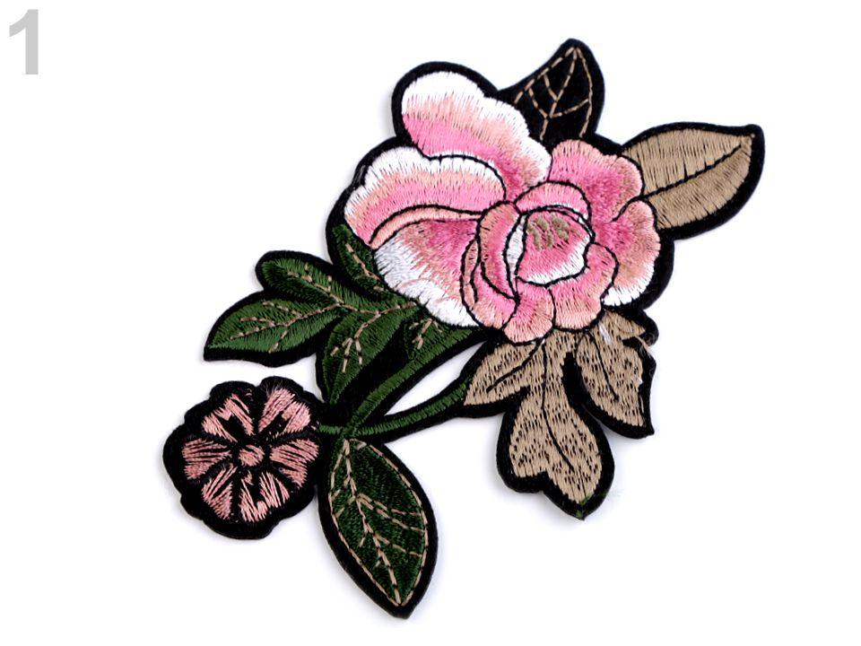 Textillux.sk - produkt Nažehlovačka na rifle ruže