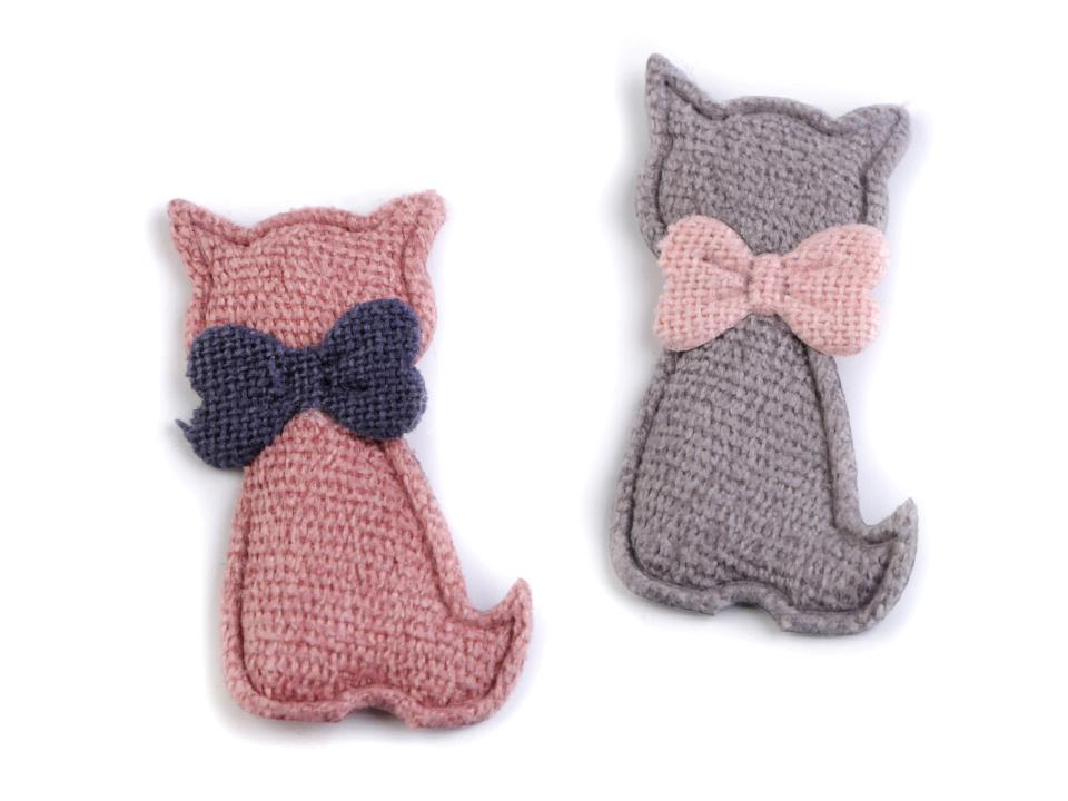 2d1e1b8bd6cc Textilná aplikácia mačka