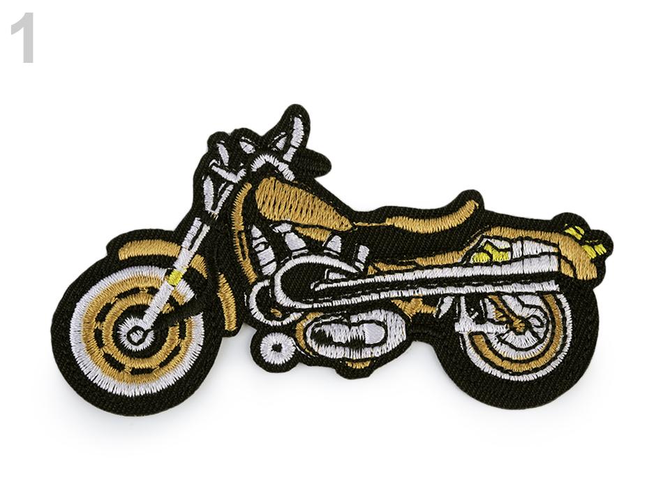 Textillux.sk - produkt Nažehlovačka motorka - 1 zlatá