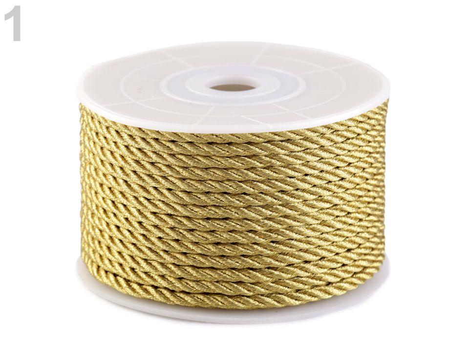 Textillux.sk - produkt Šnúra točená s lurexom Ø2,5 mm
