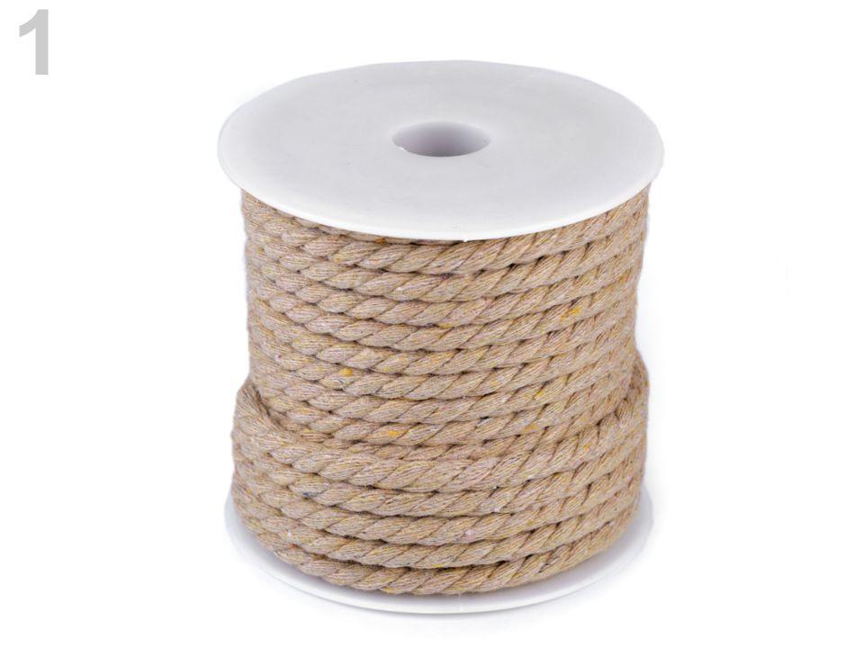 Textillux.sk - produkt Bavlnená šnúra točená Ø4 mm