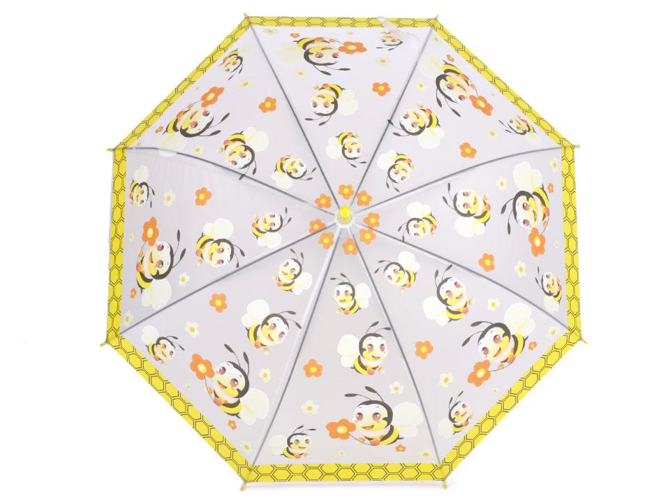 28c81309b Detský dáždnik s píšťaľkou, princezná, motýľ, pirát   STOKLASA textilní  galanterie