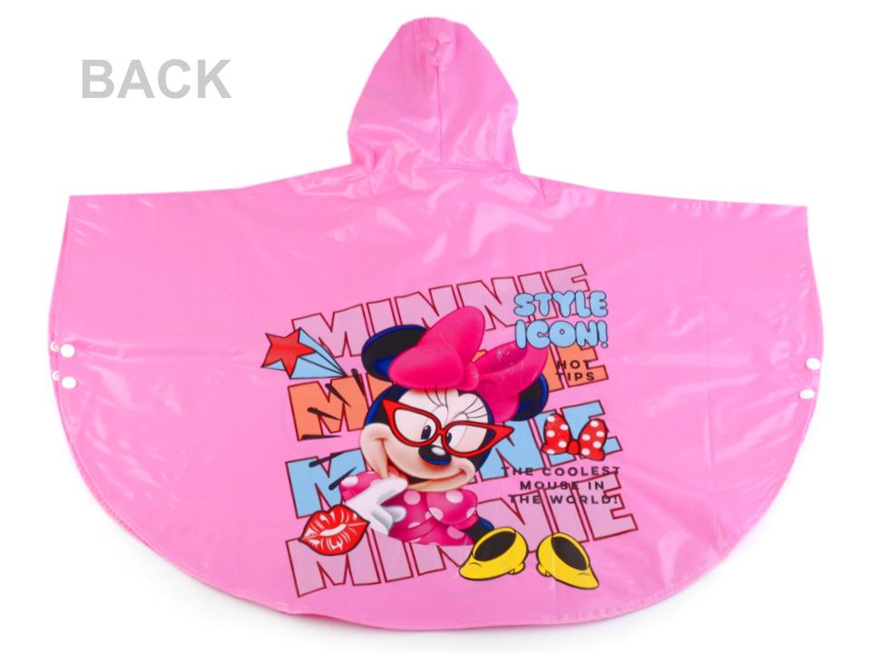 Dievčenská pláštenka pončo Disney s licenciou